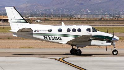 N23ND - Beechcraft C90GTi King Air - University Of North Dakota
