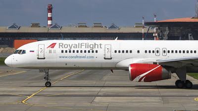 VQ-BTN - Boeing 757-256 - Royal Flight