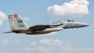85-0118 - McDonnell Douglas F-15C Eagle - United States - US Air Force (USAF)