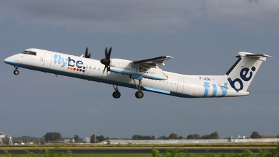 G-JEDK - Bombardier Dash 8-Q402 - Flybe