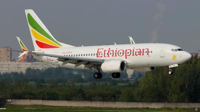 ET-ALM - Boeing 737-760 - Ethiopian Airlines