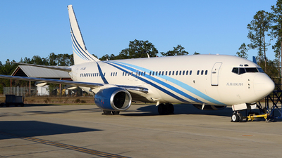 VP-CBB - Boeing 737-8AW(BBJ2) - Private