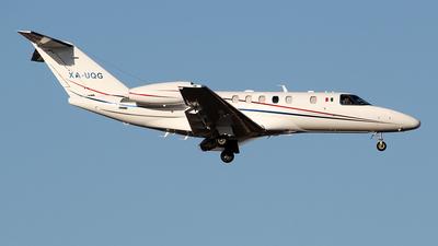 A picture of XAUQG - Cessna 525C CitationJet CJ4 - [525C0054] - © toyo_69pr