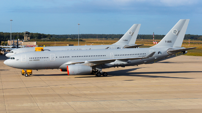 T-055 - Airbus A330-243(MRTT) - Netherlands - Royal Air Force