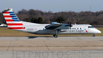A picture of N336EN - De Havilland Canada Dash 8300 - [336] - © Agustin Anaya