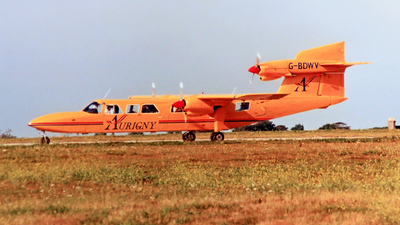 G-BDWV - Britten-Norman BN-2A Mk.III-2 Trislander - Aurigny Air Services