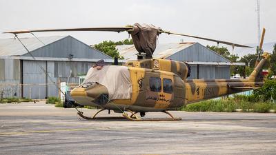 12-3303 - Bell 214B - Iran - Revolutionary Guard
