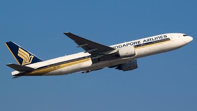9V-SRP - Boeing 777-212(ER) - Singapore Airlines