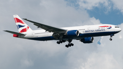 G-YMMP - Boeing 777-236(ER) - British Airways