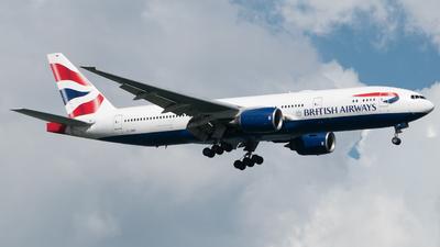 A picture of GYMMP - Boeing 777236(ER) - British Airways - © Lum Wei Tuck