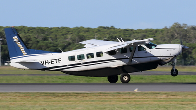 VH-ETF - Cessna 208B Grand Caravan - Hinterland Aviation