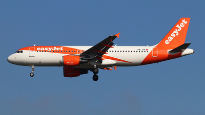 A picture of HBJZX - Airbus A320214 - easyJet - © Ferenc Kolos