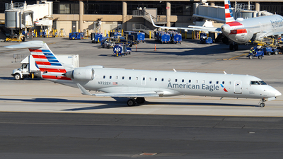 N722EV - Bombardier CRJ-701ER - American Eagle (SkyWest Airlines)