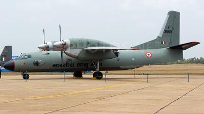 K3069 - Antonov An-32 - India - Air Force