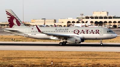 A7-AHR - Airbus A320-232 - Qatar Airways