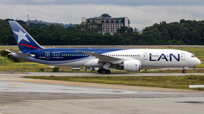 A picture of CCBGI - Boeing 7879 Dreamliner - LATAM Airlines - © fachetti_spotter