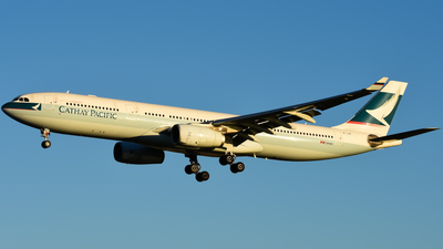 B-LAF - Airbus A330-342 - Cathay Pacific Airways