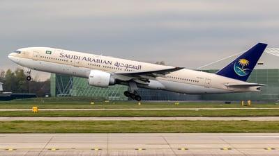 HZ-AKJ - Boeing 777-268(ER) - Saudi Arabian Airlines