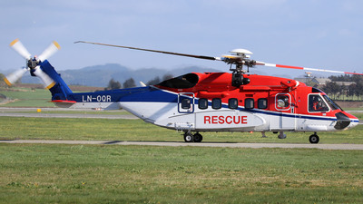 LN-OQR - Sikorsky S-92A Helibus - CHC Norway