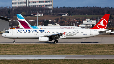 A picture of TCJRD - Airbus A321231 - Turkish Airlines - © Steffen Müller