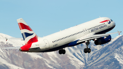 G-MEDK - Airbus A320-232 - British Airways