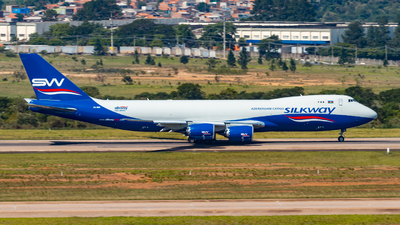 VQ-BBM - Boeing 747-83QF - Silk Way West Airlines