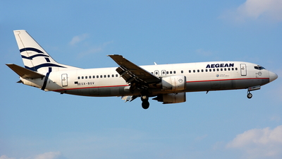 SX-BGV - Boeing 737-4Q8 - Aegean Airlines