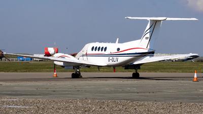 G-OLIV - Beechcraft B200 Super King Air - Dragonfly Aviation Services