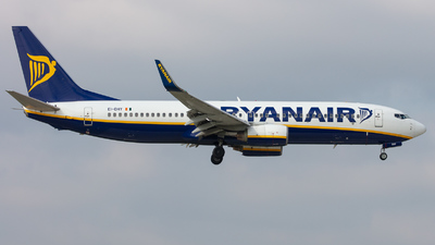 A picture of EIDHY - Boeing 7378AS - Ryanair - © kevin.hackert