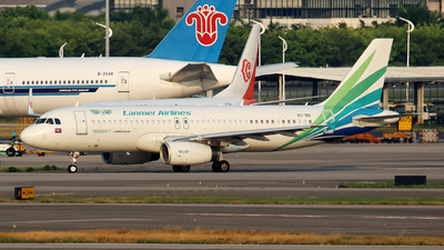 A picture of XU901 - Airbus A320232 - Lanmei Airlines - © yiran