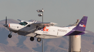 N930FE - Cessna 208B Super Cargomaster - FedEx Feeder (West Air)
