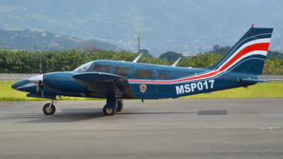 MSP017 - Piper PA-34-220T Seneca III - Costa Rica - Ministry of Public Security
