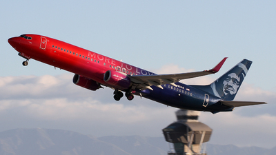N493AS - Boeing 737-990ER - Alaska Airlines