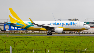 RP-C4107 - Airbus A320-214 - Cebu Pacific Air
