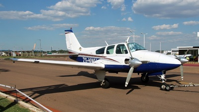 ZS-NWU - Beechcraft 95-A55 Baron - Private