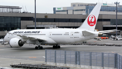 JA826J - Boeing 787-8 Dreamliner - Japan Airlines (JAL)