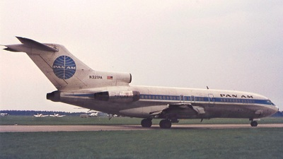 N321PA - Boeing 727-21 - Pan Am