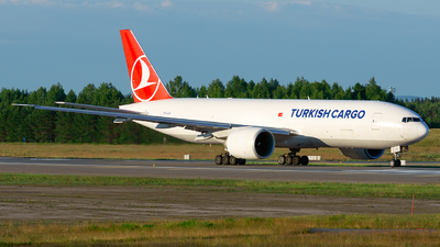 A picture of TCLJO - Boeing 777F - Turkish Airlines - © Laszlo Fekete