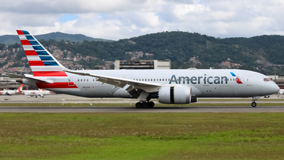 A picture of N802AN - Boeing 7878 Dreamliner - American Airlines - © Felipe Oliveira