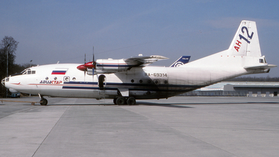 RA-69314 - Antonov An-12BP - Aviastar
