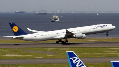 D-AIHP - Airbus A340-642X - Lufthansa