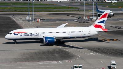 G-ZBJG - Boeing 787-8 Dreamliner - British Airways