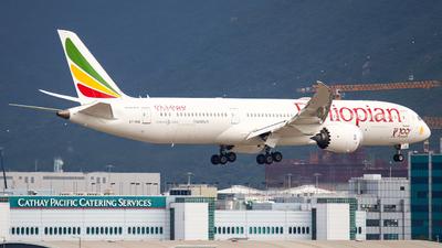 ET-AUQ - Boeing 787-9 Dreamliner - Ethiopian Airlines
