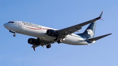 N825AM - Boeing 737-852 - Aeroméxico