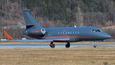 LX-EVM - Dassault Falcon 2000LX - Global Jet Luxembourg