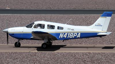 A picture of N418PA - Piper PA28181 -  - © Jeremy D. Dando
