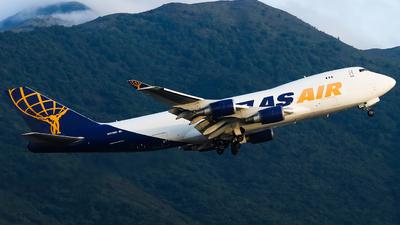 A picture of N475MC - Boeing 74747U(F) - Atlas Air - © Alvin.L
