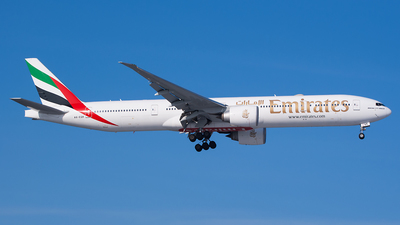 A picture of A6EQK - Boeing 77731H(ER) - Emirates - © Karsten S.