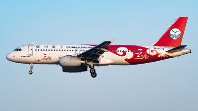 A picture of B6719 - Airbus A320232 - Sichuan Airlines - © Song Yingqi