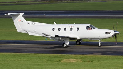 A picture of HBFQL - Pilatus PC12/47E -  - © Ian Howat